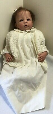 Reborn Doll baby girl doll Katie - as NEW condition very collectable!