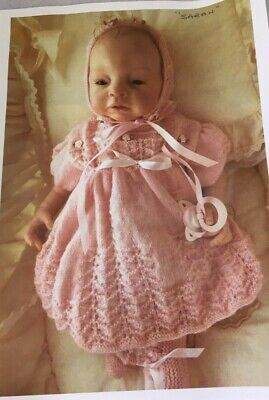 Reborn Doll baby girl doll Sarah - as NEW condition very collectable!