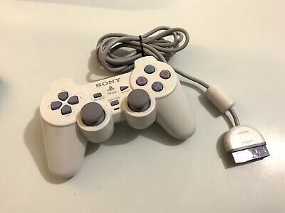 Official Sony Playstation PSONE PS1 SLIM Dual Shock Controller SCPH 110 Vtg Retr