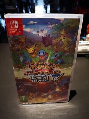 pokemon donjon mystere equipe de sauvetage dx switch
