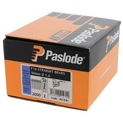 PASLODE 921591 50mm Straight Brad Nails (2000)
