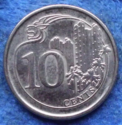 SINGAPORE - 10 cents 2013 Independent since 1965 - Edelweiss Coins .