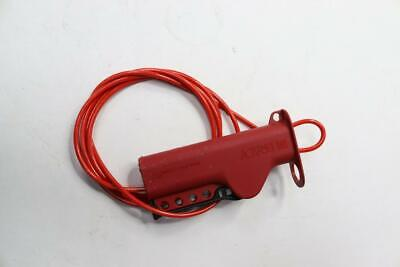 Brady 50943 All Purpose 8ft Cable Lockout Sheathed