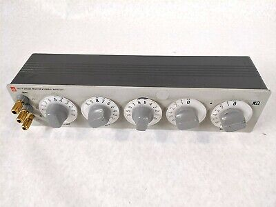 General Radio 1433-Y 1433Y Dial Adjustable Precision Accuracy Decade Resistor