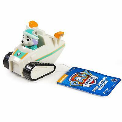 Paw Patrol Rescue Racer Everest Figure EUC HTF Figure Does Not Come Out!