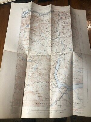 1931 Eagle Lake, ME Maine USGS Topographic Topo Map Public Utilities Commission