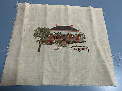 Completed Cross Stitch - The Briars