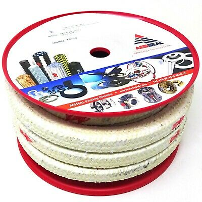 "Para-Aramid Fiber Packing 250TP Aesseal 22mm 7/8"" 8.6m ARASTAR"