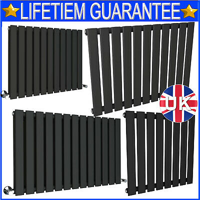 2020 Anthracite Designer Radiator Vertical Horizontal Flat Panel Oval Column Rad