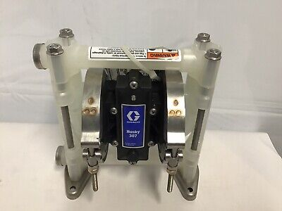 Graco Husky 307 / AT10/VA10 Air Diaphragm Pump AODD (Poly/PTFE) - D3B911