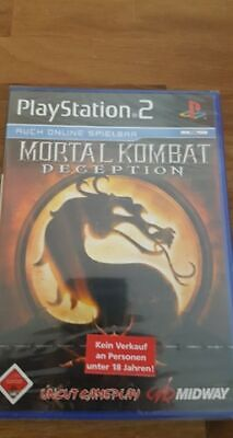 Mortal Kombat Deception  PS2 / Playstation 2  Neu OVP