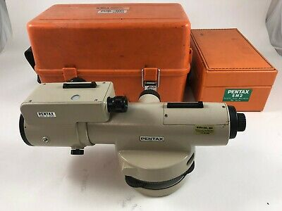 Pentax PAL5C automatic level 24 power with  optical micrometer metic