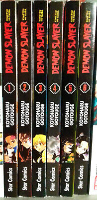 DEMON SLAYER n. 5 manga Star Comics in italiano nuovo KOYOHARU GOTOUGE
