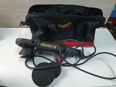 Meguiars MT320 Dual Action Polisher with Bag and 3 backing pads