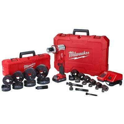 "Milwaukee M18 FORCE LOGIC 6T Knockout Tool 1/2"" - 4"" Kit 2677-23"