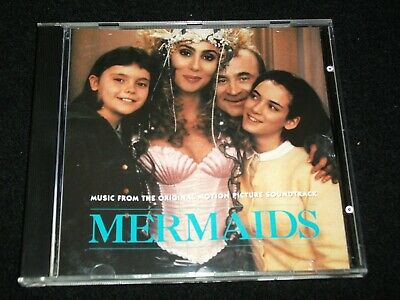 MERMAIDS<>SOUNDTRACK<>Canada Cd °1990° GEFFEN GEFD 24310