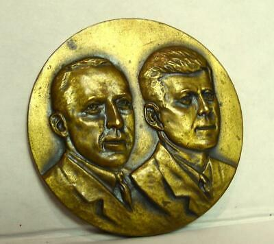 Denver Colorado John F. Kennedy National Postmasters Brass Coin 1961