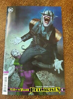 YEAR OF THE VILLAIN HELL ARISEN #4 (2020) Cover B FIRST PRINT DC Comics