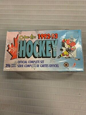 1992-93 OPC O-Pee-Chee Hockey Factory Set * Sealed 396 Cards * Gretzky Roy 92-93