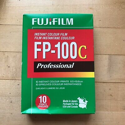 Fujifilm Type 100 Pack Film - FP-100c Instant Color Film for Polaroid - Exp 2014