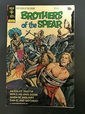 Brothers of the Spear #3 (December 1972, Bronze Age)