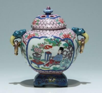 Chinese Porcelain Censer Weihrauchbrenner - 2. H. 20th C.           #11570