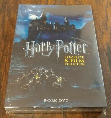 Harry Potter Complete 8-film Collection 8-disc DVD Set 2011 SEALED