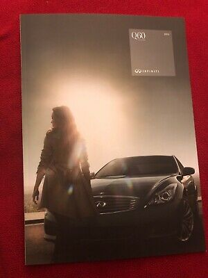 2015 Infiniti Q60 Coupe 30 Page Deluxe Sales Brochure