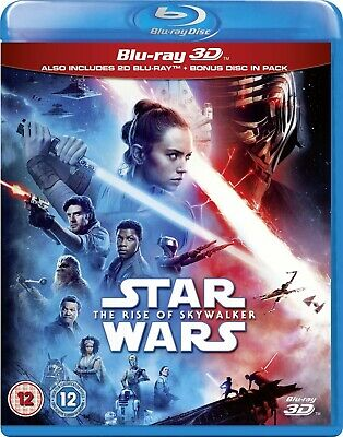 Star Wars The Rise Of The Skywalker 3D (Blu-ray 2D/3D) BRAND NEW!!