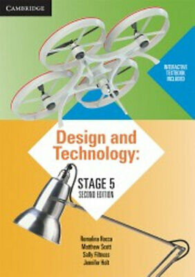 NEW Design and Technology Stage 5 By Romalina Rocca Book with Other Items