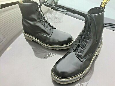 Vintage Dr Martens 1460 black leather boots UK 13 EU 49 Made in England