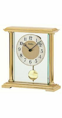 Modern clock with quartz movement from AMS AM T1143 NEW