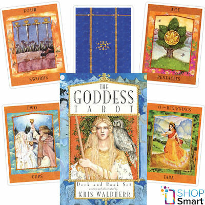 The Goddess Tarot Cards Deck And Book Set Esoteric Telling Us Games Systems New