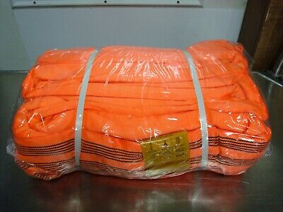 Oceanside Oc-400 20' Orange Polyester Endless Round Lifting Sling Rigging Nnb