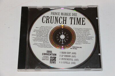 PROMO - Prince Markie Dee ‎– Crunch time - CD Single 1995 Soul Convention Record