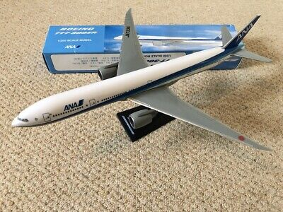 ANA Boeing 777-300ER rare plane model, great condition, plastic, 1:200, JA733A