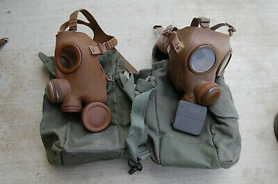 French 40mm NATO CBRN Gas Mask   ANP-51/53 (French M53)