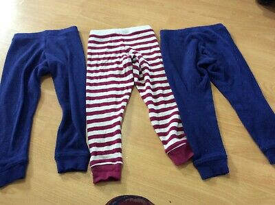Kids girls M&S marks and Spencer's thermal leggings size 2-3years