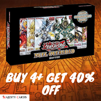 Duel Overload | DUOL | Pick any 4+ | 40% OFF | SINGLES Yugioh