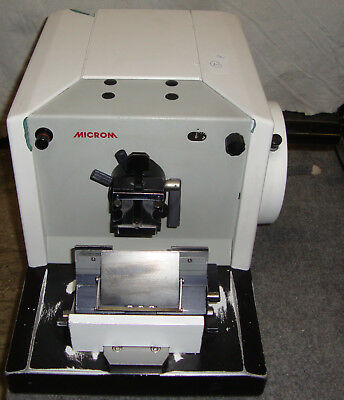 MICROM HM 320 HM320 MICROTOME with knife assembly