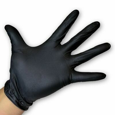 Blue Disposable Nitrile Gloves Powder Latex Free Size Large Medium Small