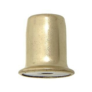 "B&P Lamp® 1"" Ht., Brass Plated & Lacq. Finial, 1/4-27F"