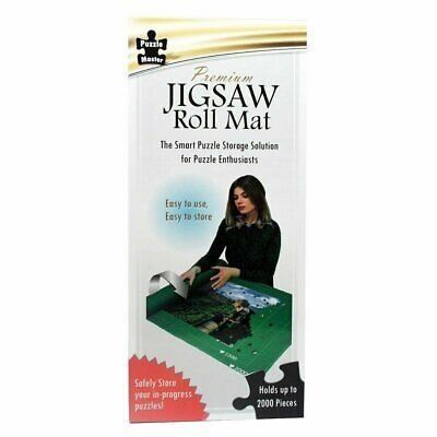Puzzle Master Premium Jigsaw Roll Mat: Holds up to 2000 Pieces