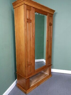 An Antique Early 20th Century Solid Satinwood Wardrobe ~Delivery Available~