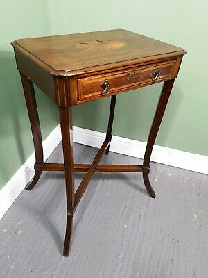 An Antique Edwardian Lamp Occasional Table ~Delivery Available~