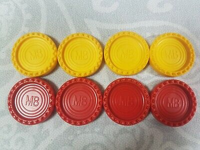FREE P/&P COUNTERS CONNECT 4 FOUR ORIGINAL MB GAME SPARE REPLACEMENT PIECES