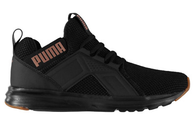 PUMA ENZO WEAVE Ladies Trainers Black Size UK 6 US 8.5