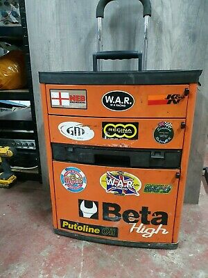 Beta (C41 High) Tool trolley box chest with 3 drawers