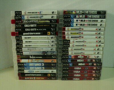 Playstation 3 Games Complete Fun Pick & Choose PS3 Video Games Lot AUCT#PS3-1