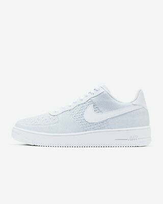 NIKE AIR FORCE 1 Flyknit 2.0 Ci0051 400 Ocean Fog Summit